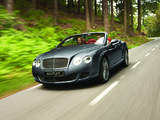 Bentley Continental GTC Speed 2009–11 images