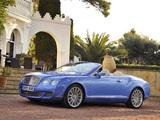 Bentley Continental GTC Speed 2009–11 photos