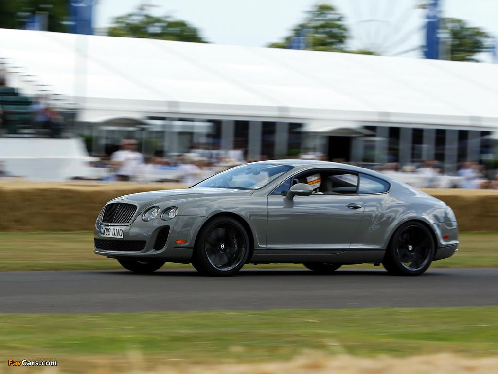 Bentley Continental Supersports 2009–11 photos (1024 x 768)