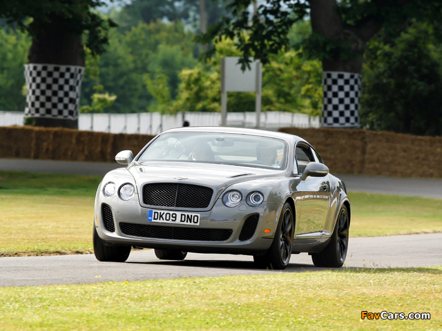 Bentley Continental Supersports 2009–11 pictures (640 x 480)