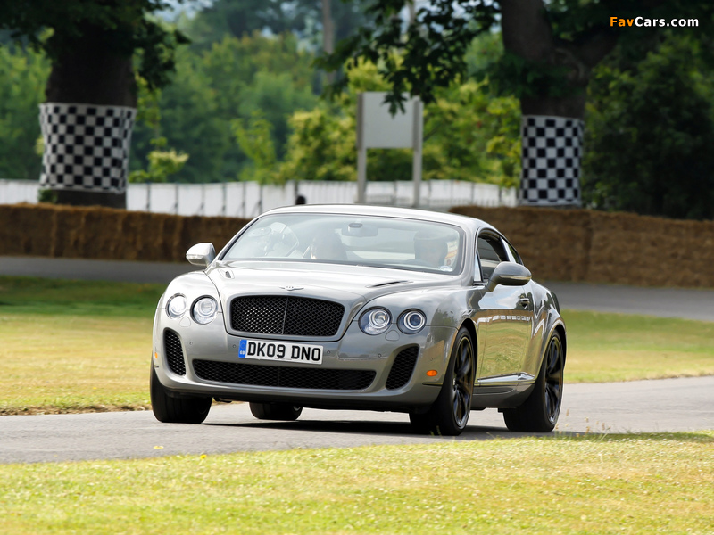 Bentley Continental Supersports 2009–11 pictures (800 x 600)
