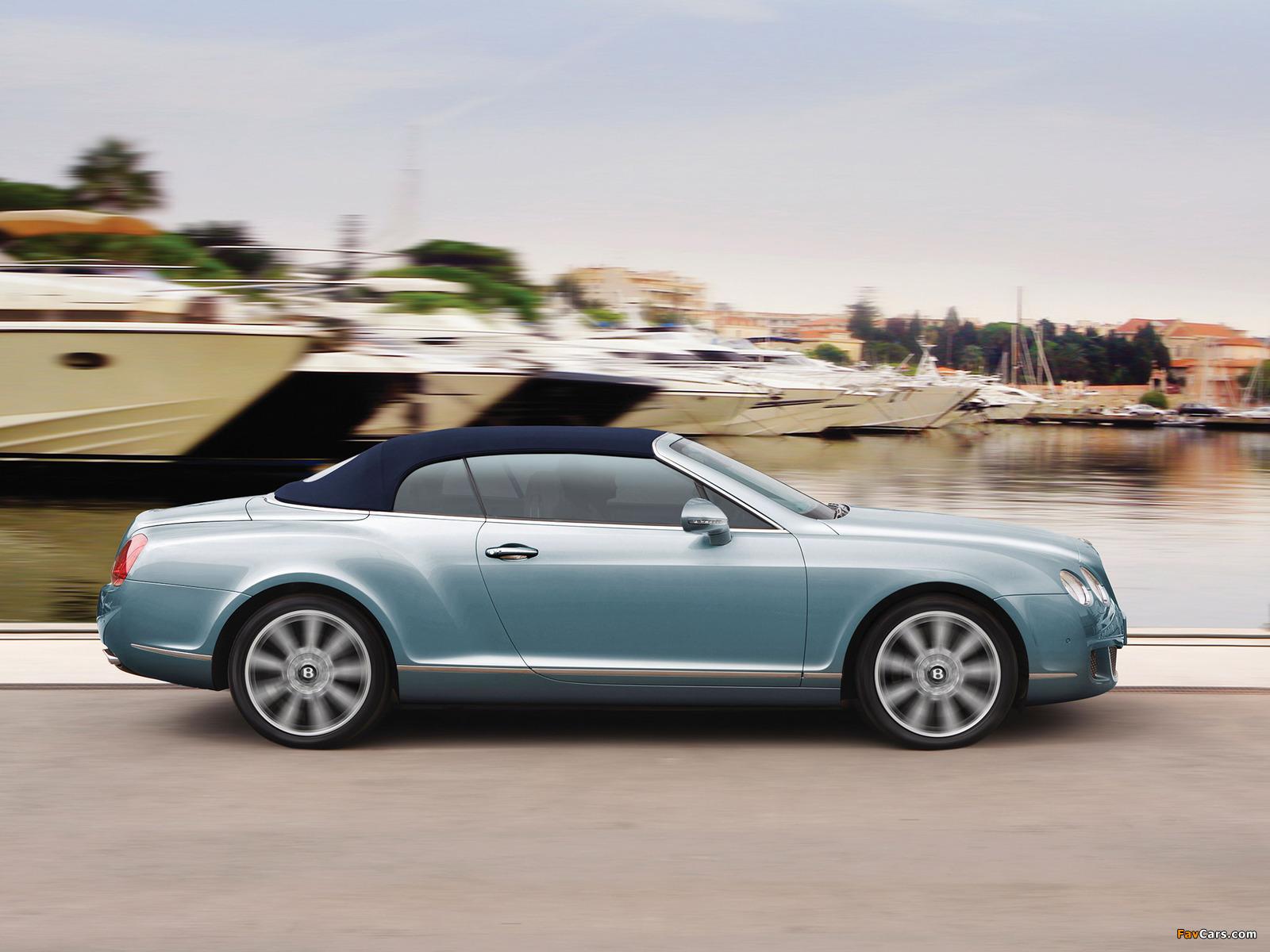 Bentley Continental GTC 2009–11 pictures (1600 x 1200)