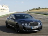 Bentley Continental Supersports 2009–11 wallpapers