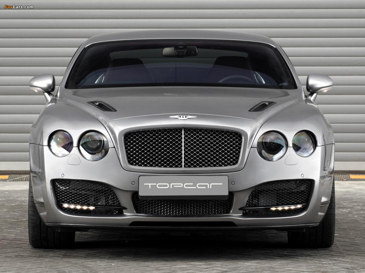 TopCar Bentley Continental GT Bullet 2009 wallpapers (1280 x 960)