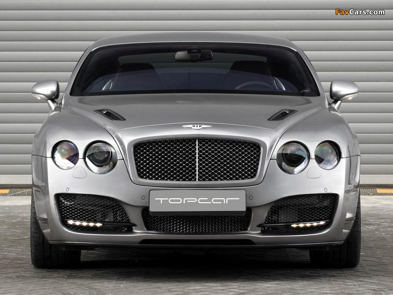TopCar Bentley Continental GT Bullet 2009 wallpapers (800 x 600)