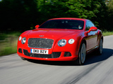 Bentley Continental GT 2011 images