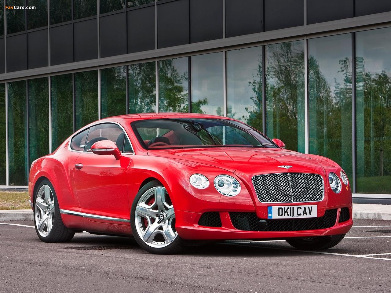 Bentley Continental GT UK-spec 2011 images (1280 x 960)