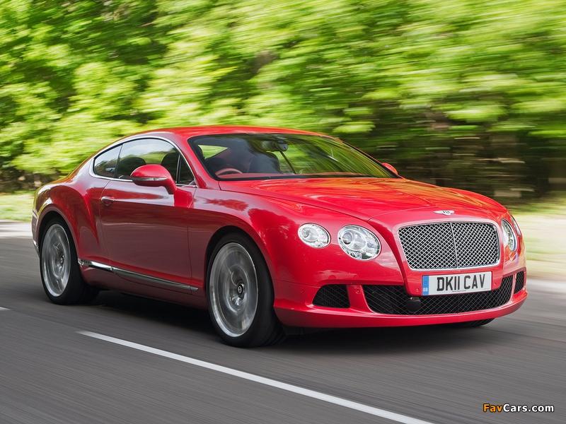 Bentley Continental GT UK-spec 2011 images (800 x 600)