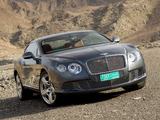 Bentley Continental GT 2011 photos