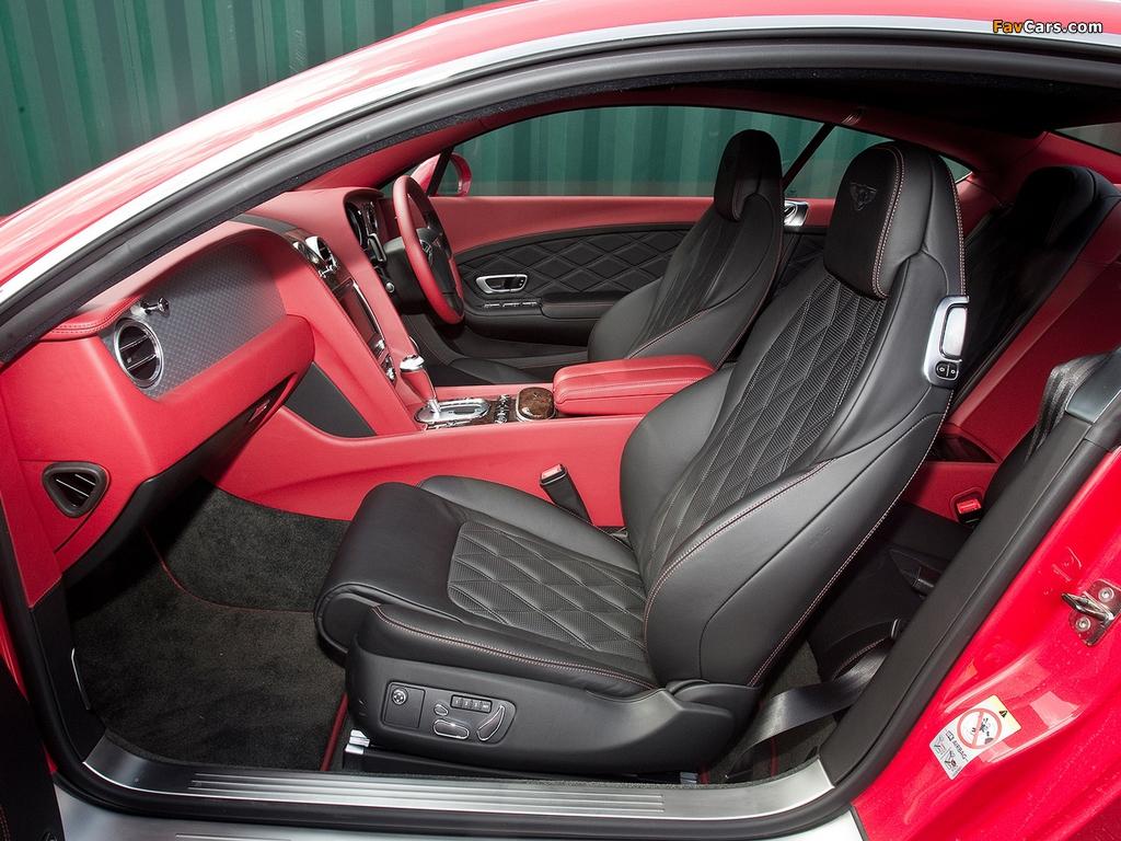 Bentley Continental GT UK-spec 2011 pictures (1024 x 768)