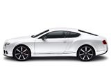 Bentley Continental GT Mulliner Styling Spec 2011 wallpapers