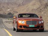 Bentley Continental GT 2011 wallpapers