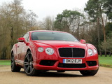 Bentley Continental GT V8 2012 images