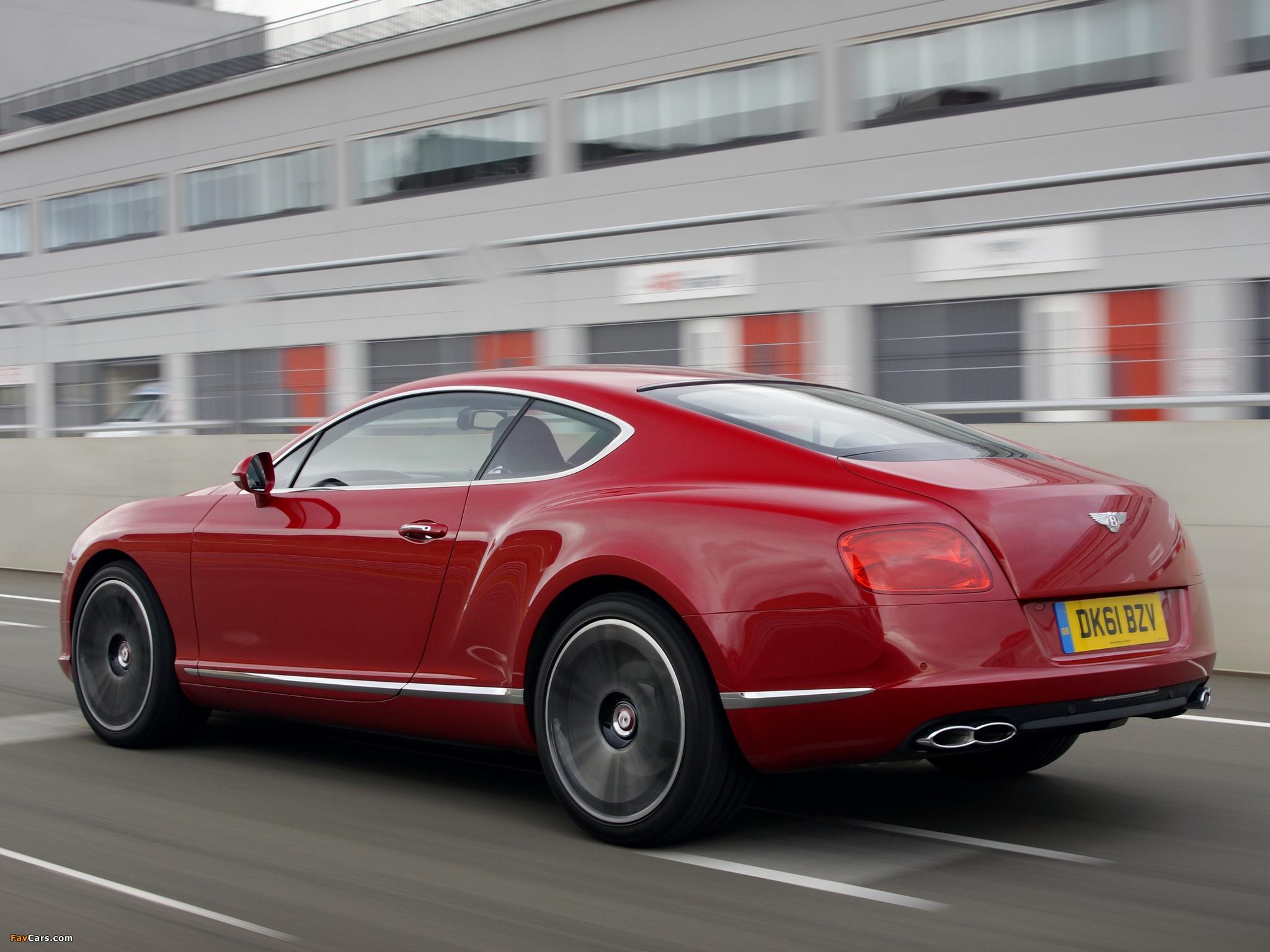 Bentley Continental GT V8 UK-spec 2012 images (2048 x 1536)