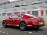 Bentley Continental GT V8 UK-spec 2012 images