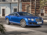 Bentley Continental GT Speed 2012–14 images