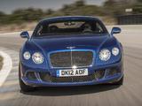 Bentley Continental GT Speed 2012–14 images