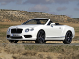 Bentley Continental GTC V8 2012 photos