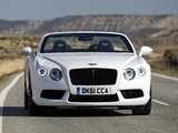 Bentley Continental GTC V8 2012 pictures