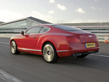 Bentley Continental GT V8 UK-spec 2012 pictures