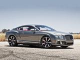 Bentley Continental GT Speed US-spec 2012–14 pictures