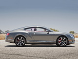 Bentley Continental GT Speed US-spec 2012–14 wallpapers