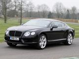 Bentley Continental GT V8 UK-spec 2012 wallpapers