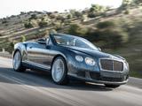 Bentley Continental GT Speed Convertible 2013–14 images