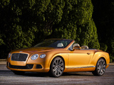 Bentley Continental GT Speed Convertible 2013–14 images