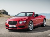 Bentley Continental GT V8 S Convertible 2013 images