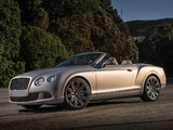 Bentley Continental GT Speed Convertible 2013–14 photos
