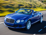 Bentley Continental GT Speed Convertible 2013–14 photos