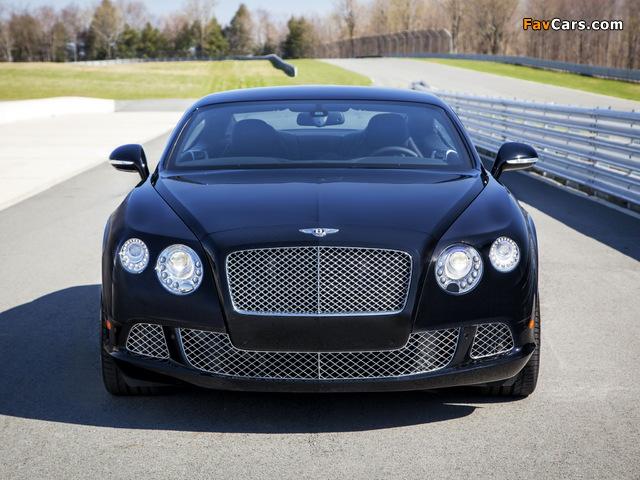 Bentley Continental GT Speed Le Mans Edition 2013 photos (640 x 480)