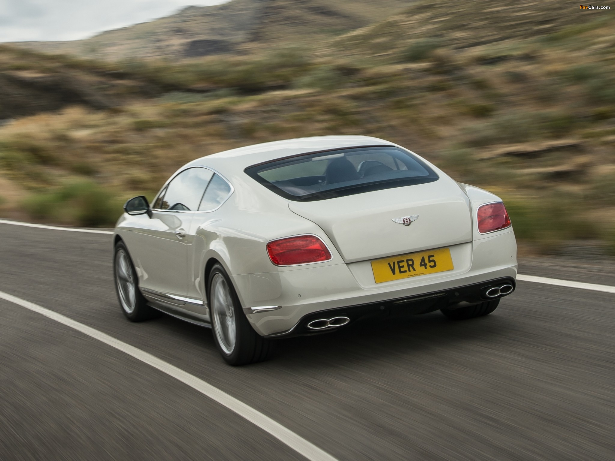 Bentley Continental GT V8 S Coupe 2013 pictures (2048 x 1536)