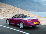 Bentley Continental GT Speed Convertible 2013–14 pictures