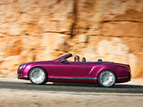 Bentley Continental GT Speed Convertible 2013–14 wallpapers