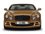Bentley Continental GT Speed Convertible 2014 photos