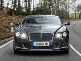 Bentley Continental GT Speed 2014 wallpapers