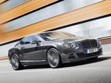 Bentley Continental GT Speed 2014 wallpapers