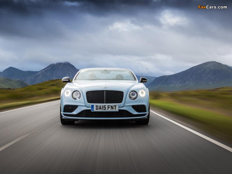 Bentley Continental GT V8 S Convertible UK-spec 2015 photos (800 x 600)