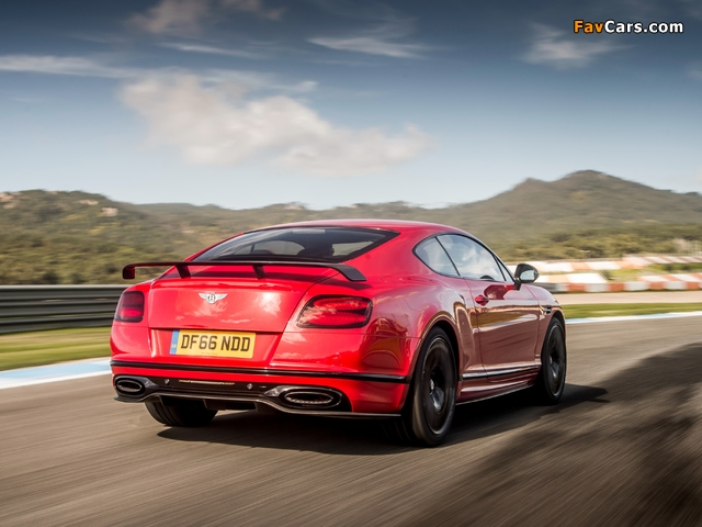 Bentley Continental Supersports 2017 images (640 x 480)