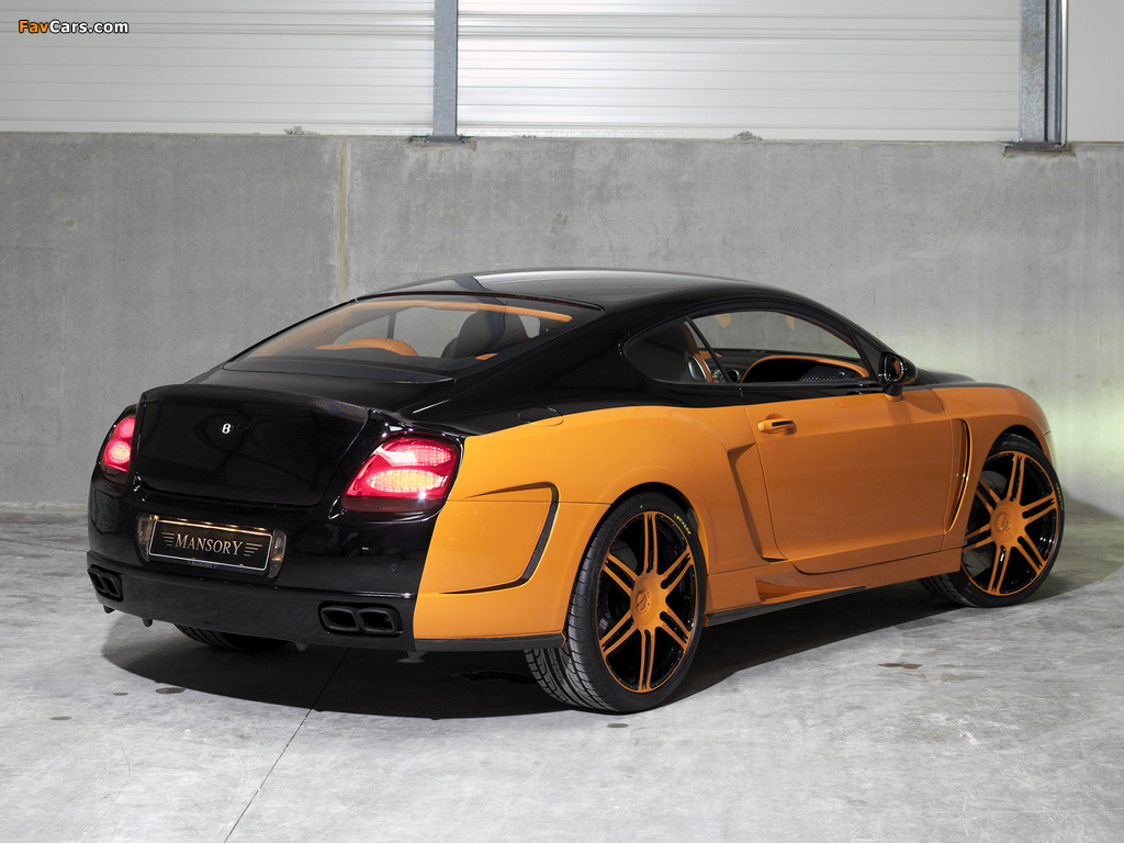Mansory Bentley Continental GT wallpapers (1024 x 768)