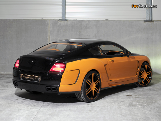 Mansory Bentley Continental GT wallpapers (640 x 480)