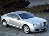 Bentley Continental GT UK-spec 2003–07 photos