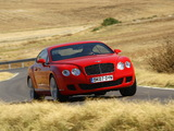 Bentley Continental GT Speed 2007–11 images