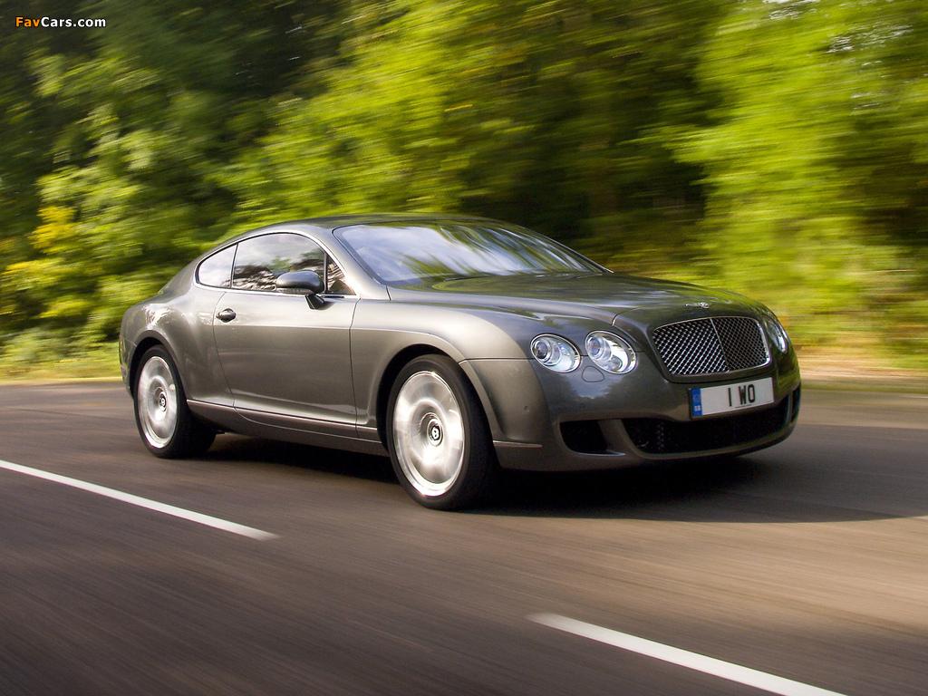 Bentley Continental GT Speed 2007–11 photos (1024 x 768)