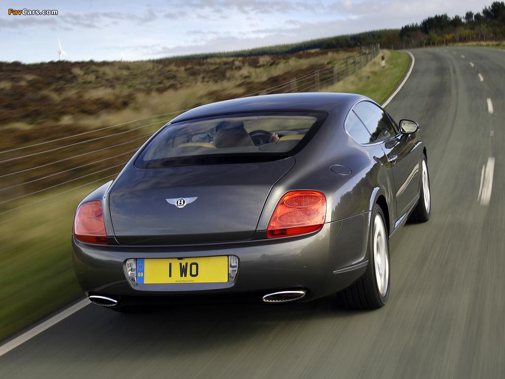 Bentley Continental GT Speed 2007–11 wallpapers (1024 x 768)