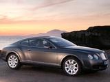 Images of Bentley Continental GT UK-spec 2003–07