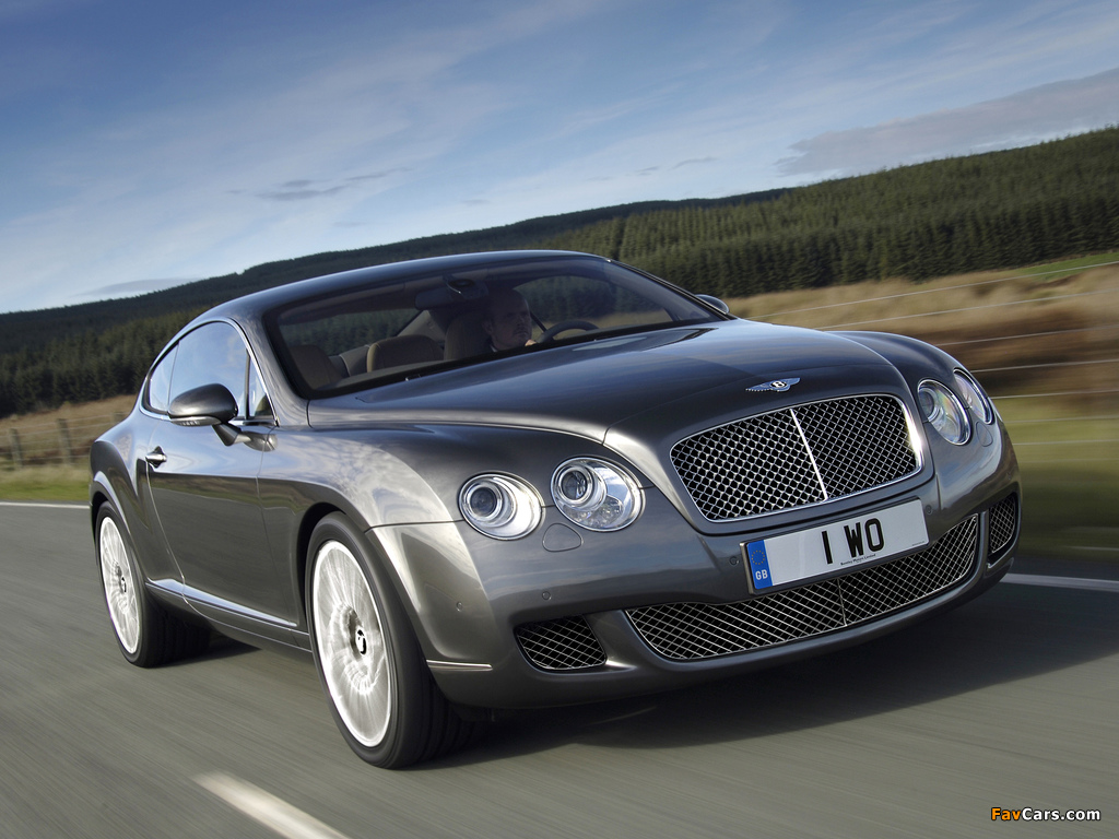 Images of Bentley Continental GT Speed 2007–11 (1024 x 768)