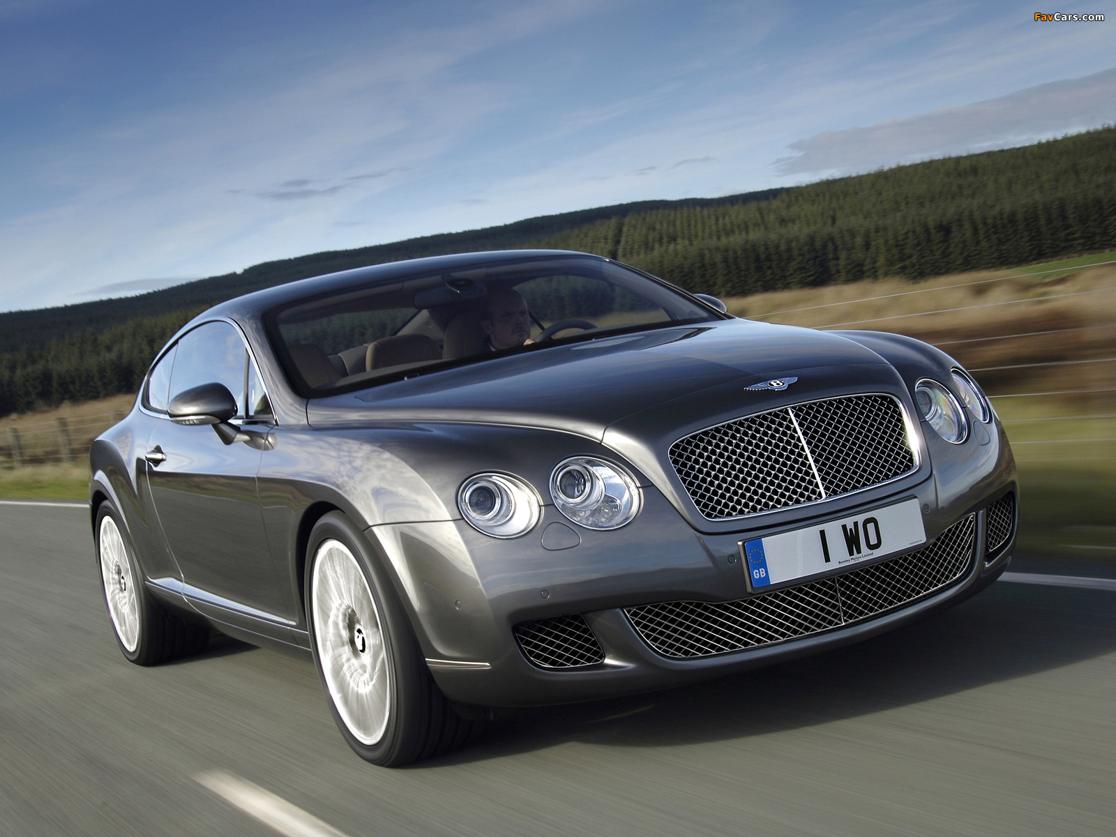 Images of Bentley Continental GT Speed 2007–11 (1600 x 1200)